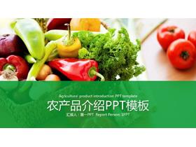 蔬菜PPT模板