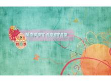 Happy Easter复活节快乐PPT模板下载
